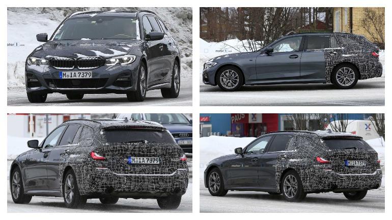 В сети оказались первые фотографии универсала BMW 3 серии 2