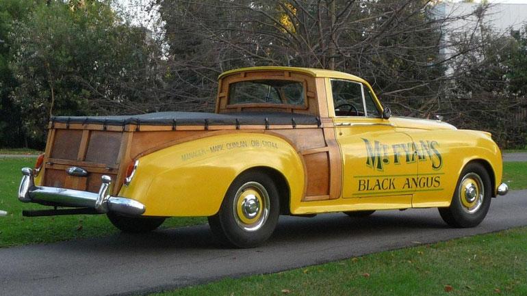 Уникальный пикап Bentley продадут на аукционе 2