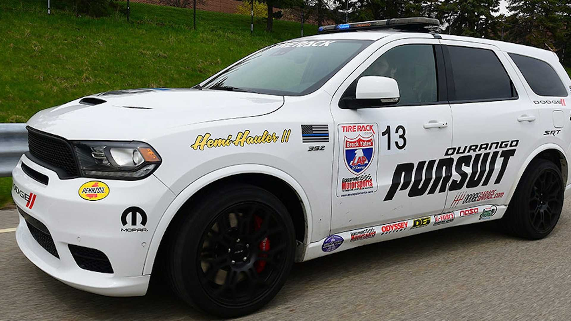 Dodge превратил Durango SRT в 797-сильный внедорожник Pursuit Speed Trap 2