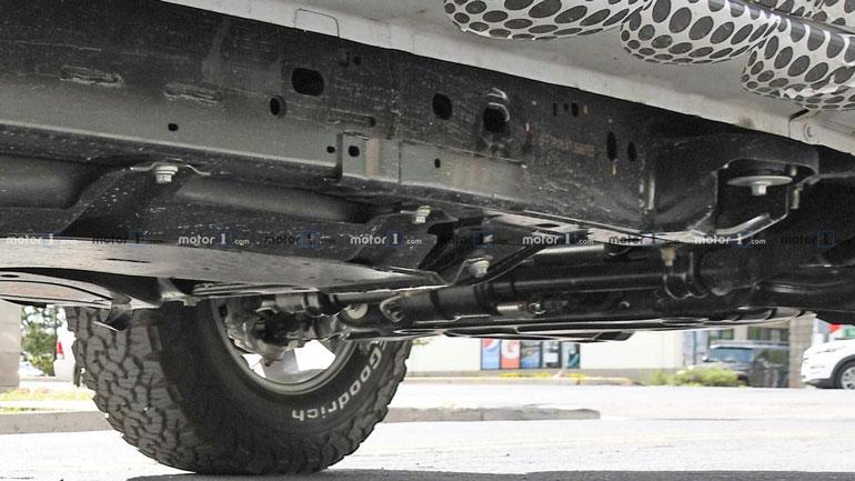 Новый Ford Bronco замечен на тестах 2