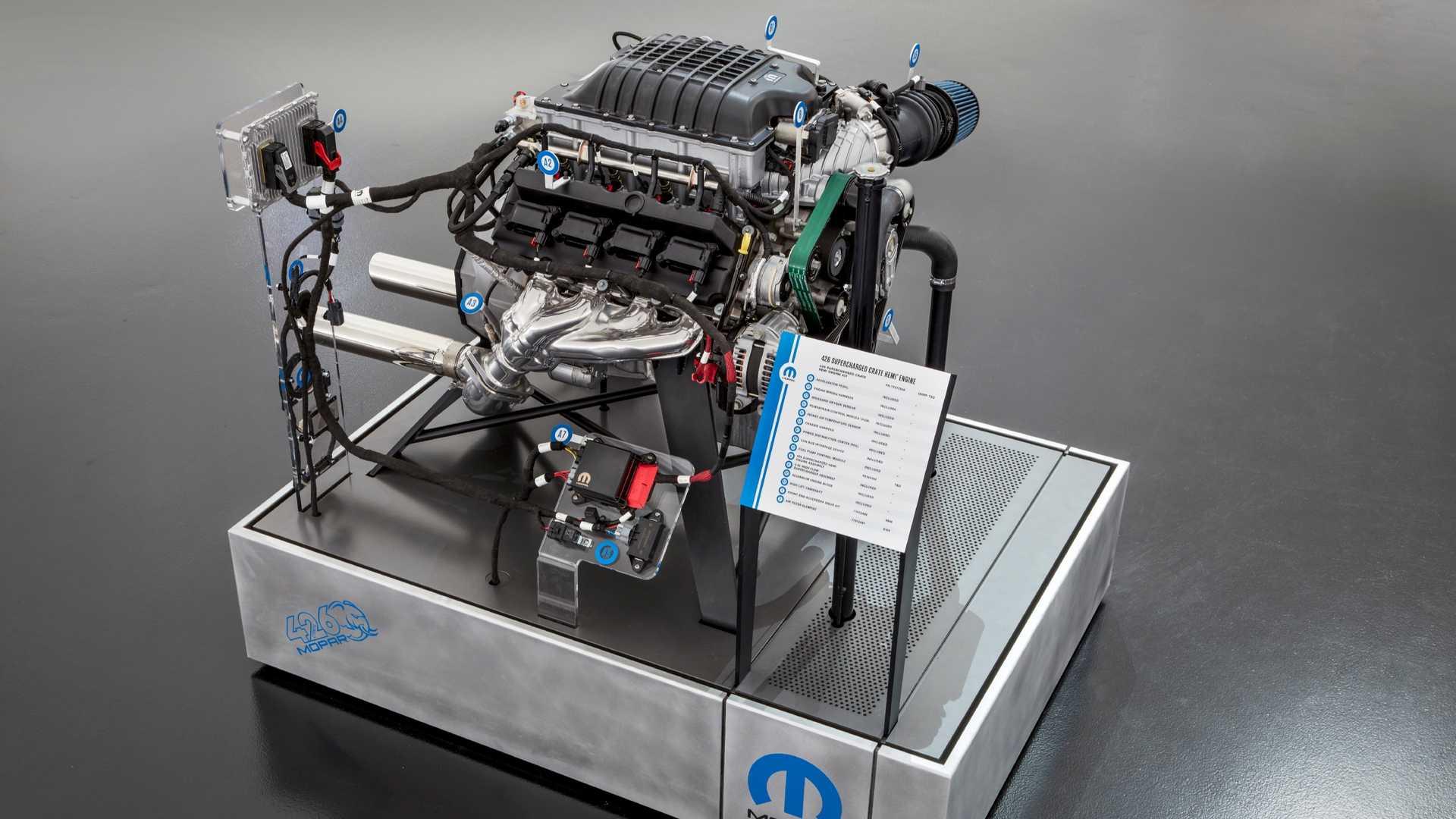 Mopar распродал все 1000-сильные двигатели Hellephant 1
