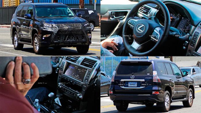 Опубликованы шпионские фото нового Lexus GX 1