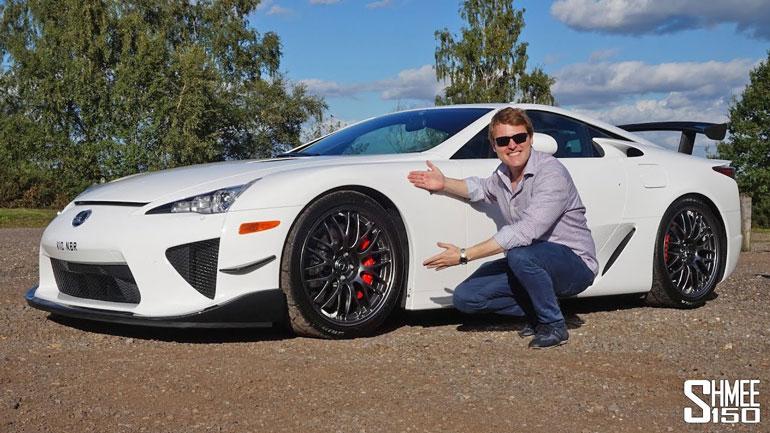 Уникальный спорткар Lexus LFA Nurburgring Edition выставлен на продажу 1