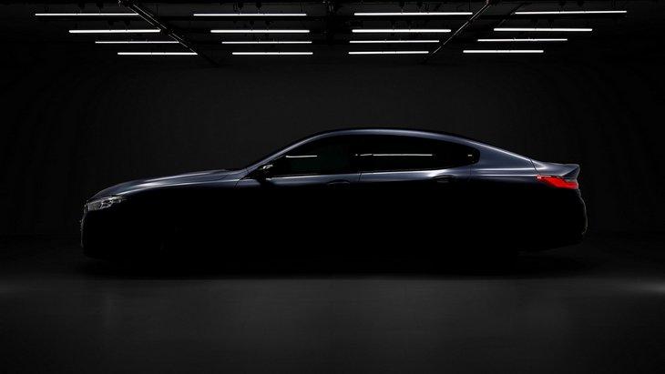 BMW выпустила первый тизер 8 Series Gran Coupe 1