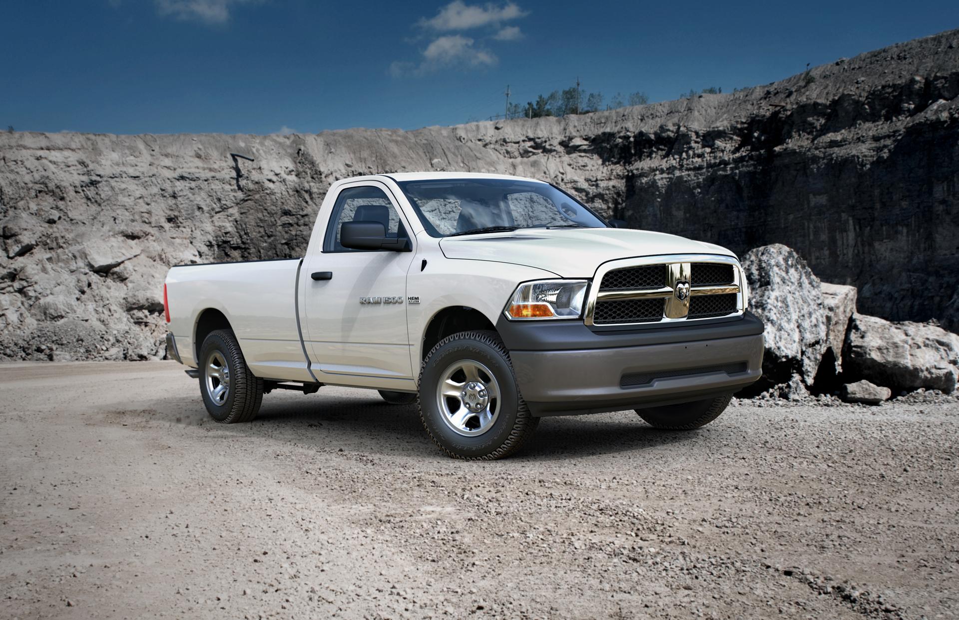 Dodge ведет работы над среднеразмерным пикапом 1