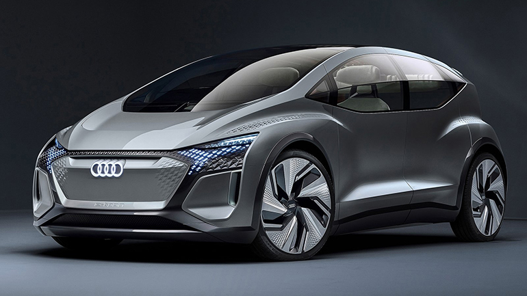Audi показал концепт AI:ME с садом на крыше 1