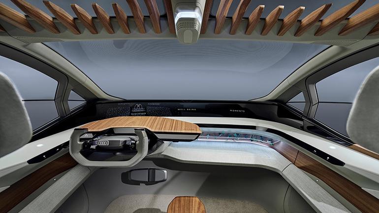 Audi показал концепт AI:ME с садом на крыше 2