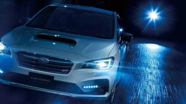 Subaru представлен «заряженный» универсал Levorg STI Sport 1