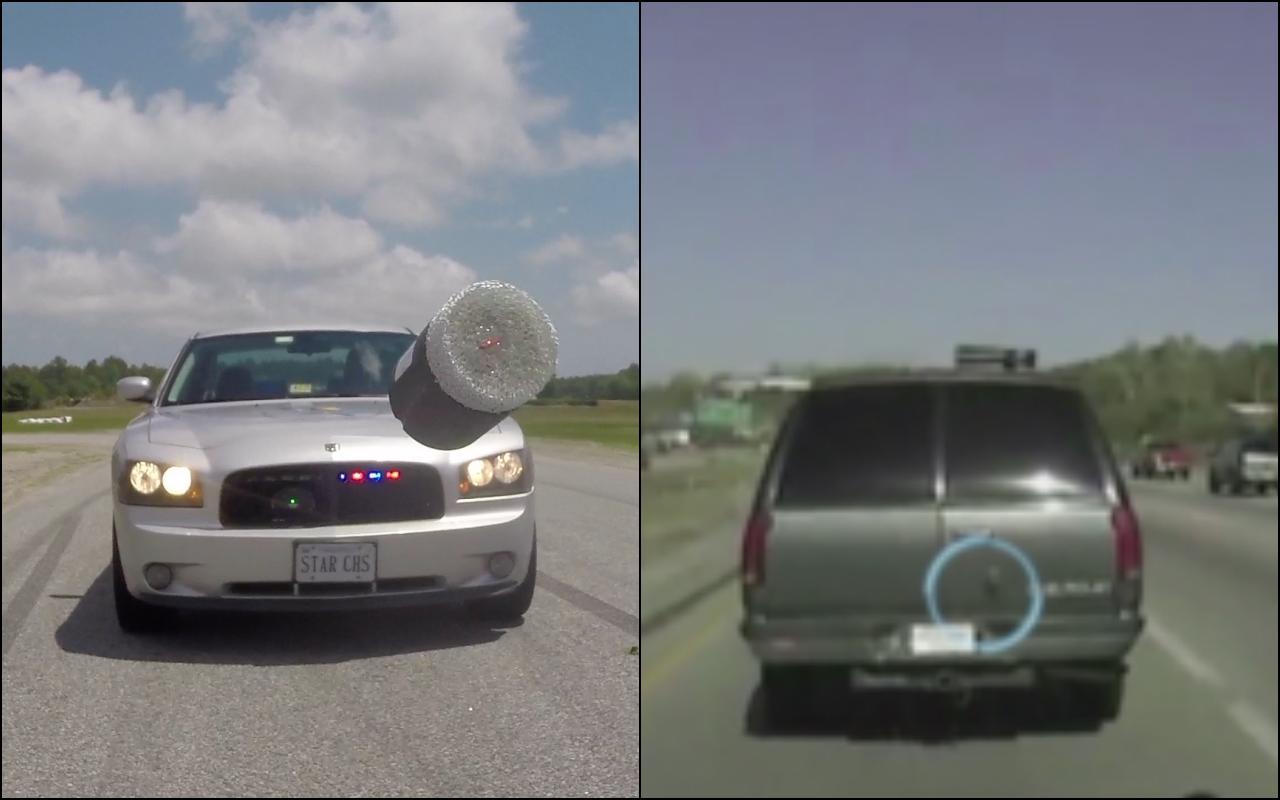 Дротики с GPS — новые технологии дорожной полиции 2