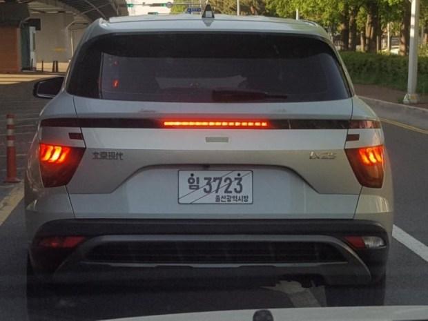Hyundai Creta 2020 опять засветилась на дорогах 2