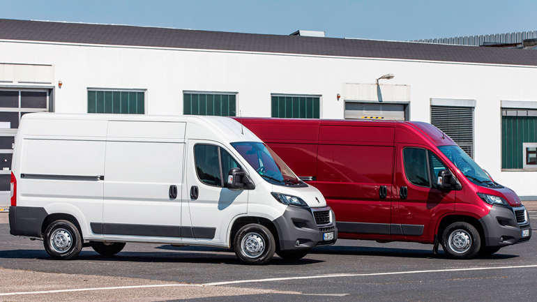 Peugeot Boxer и Citroen Jumper стали электрокарами 1