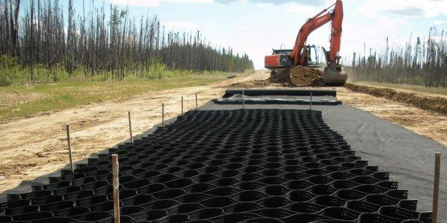 Минрегион предлагает увеличить использование геосинтетики при строительстве дорог 1