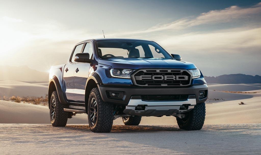 Представлен новый пикап Ford Ranger 1