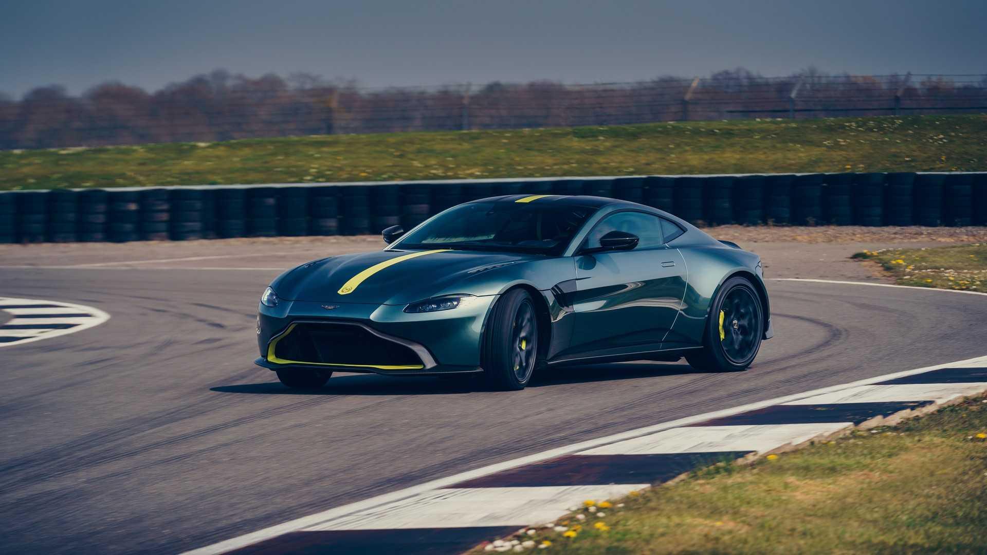Aston Martin сделал облегчённый Vantage AMR с «механикой» 2