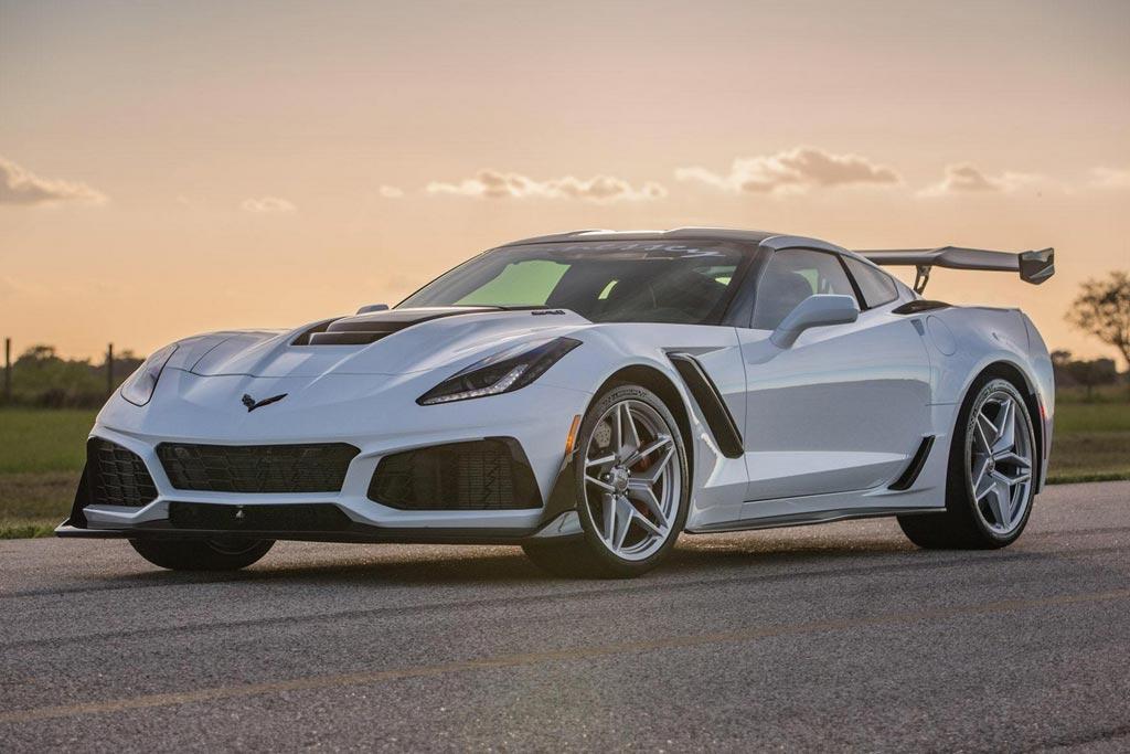 В ателье Hennessey подготовили 1200-сильный Corvette ZR1 1