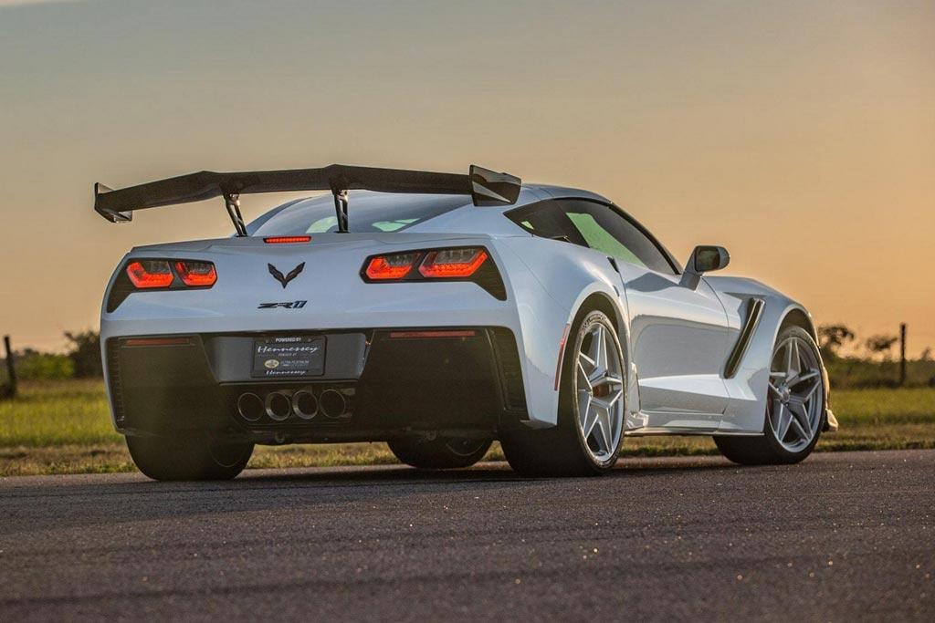 В ателье Hennessey подготовили 1200-сильный Corvette ZR1 2