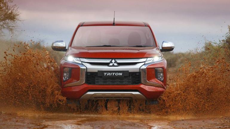 Mitsubishi решила завоевать рынок среднеразмерных пикапов 1