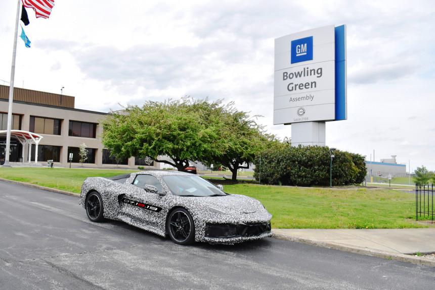 Новый Corvette будут производить в две смены 1