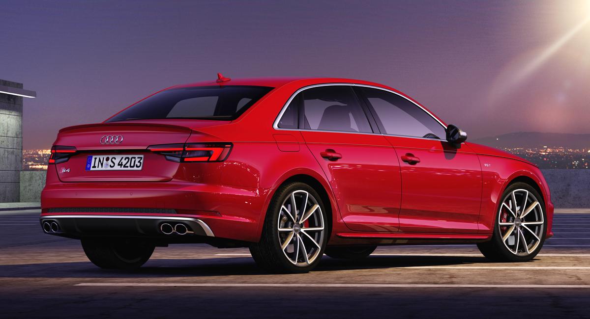 «Заряженные» Audi S4 обзавелись дизелем с электронаддувом 1
