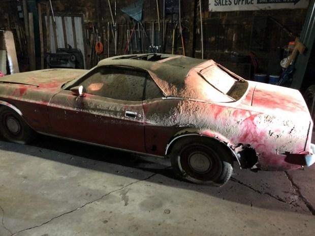 Ford Mustang 1973 года выставили на продажу за 5200 долларов 2