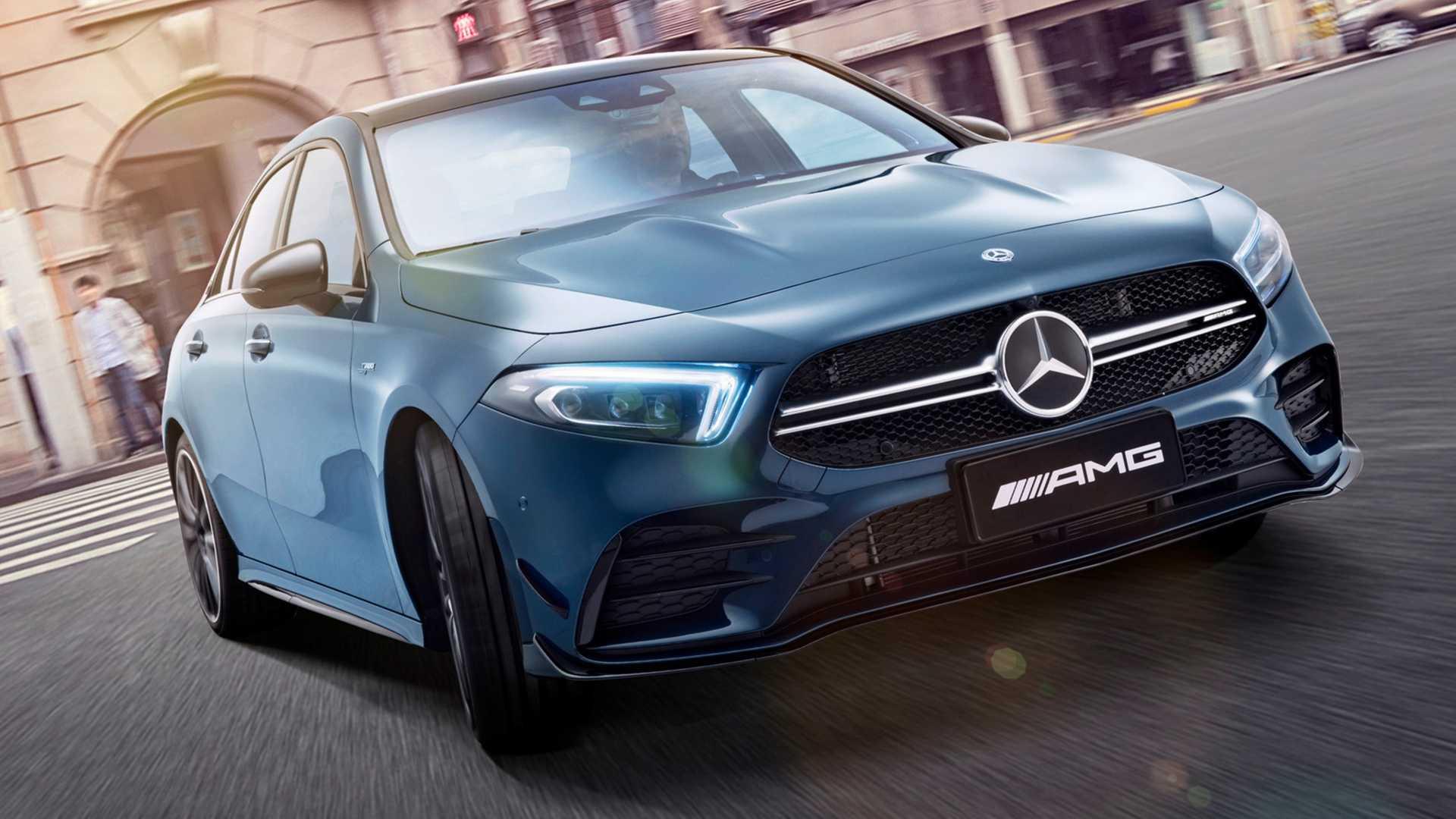 Mercedes-AMG откажется от заднего привода в своих моделях 1