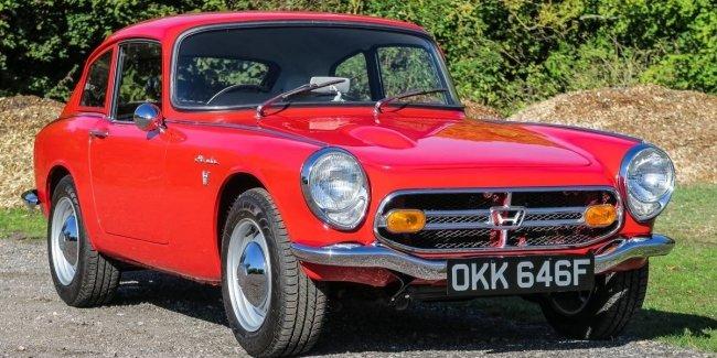 В Великобритании редкое купе Honda продают по цене Дастера 1