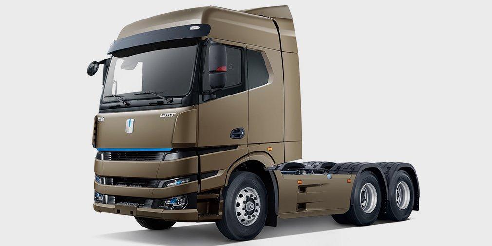 Geely представил грузовик на метаноле 1
