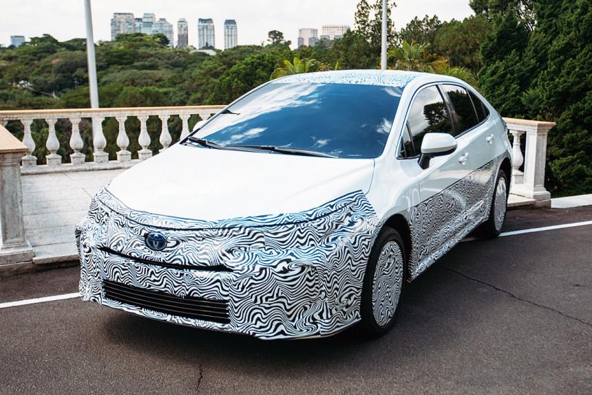 Бразильская Toyota Corolla станет «алкогольным» гибридом 1