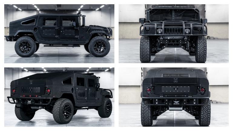 Специалисты MSA подготовили очередной рестомод Hummer H1 1