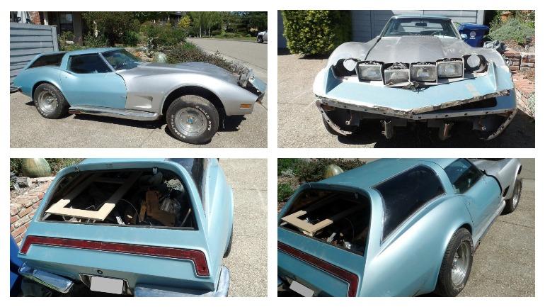 На продажу выставлен уникальный Chevrolet Corvette 1