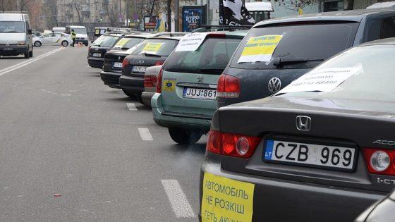 «Евробляхеры» вновь готовят масштабную акцию протеста 1