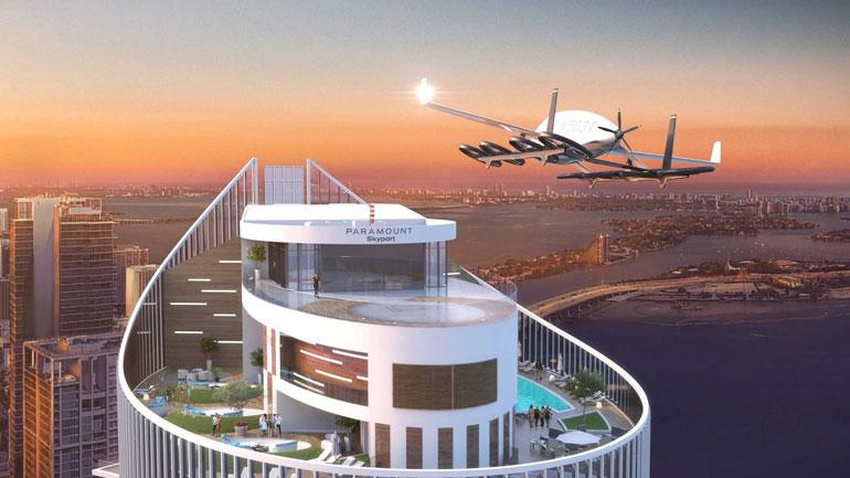 Первая площадка для летающих автомобилей Skyport появится в Майами 1