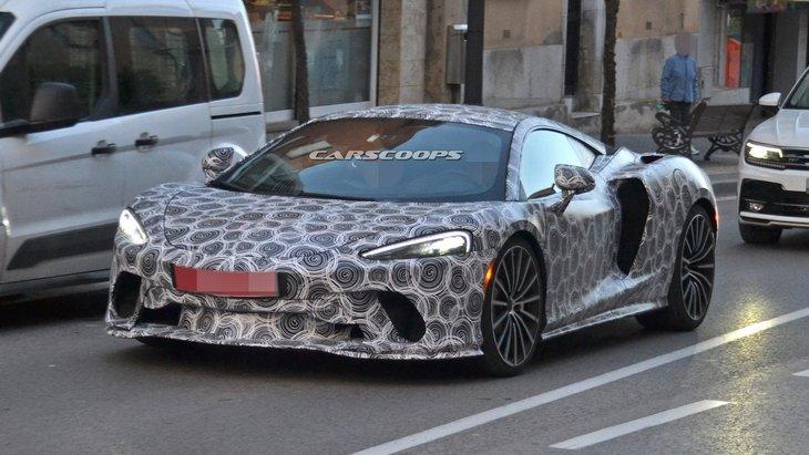 Новые шпионские снимки будущего уникального Grand Tourer от McLaren 1
