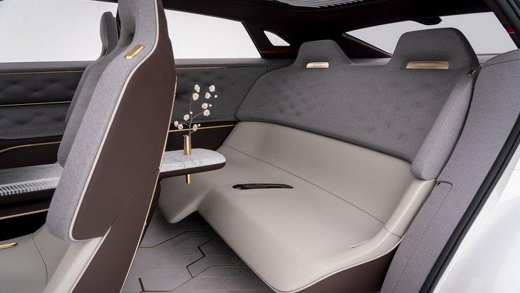 В будущих электромобилях может измениться вид заднего дивана 1