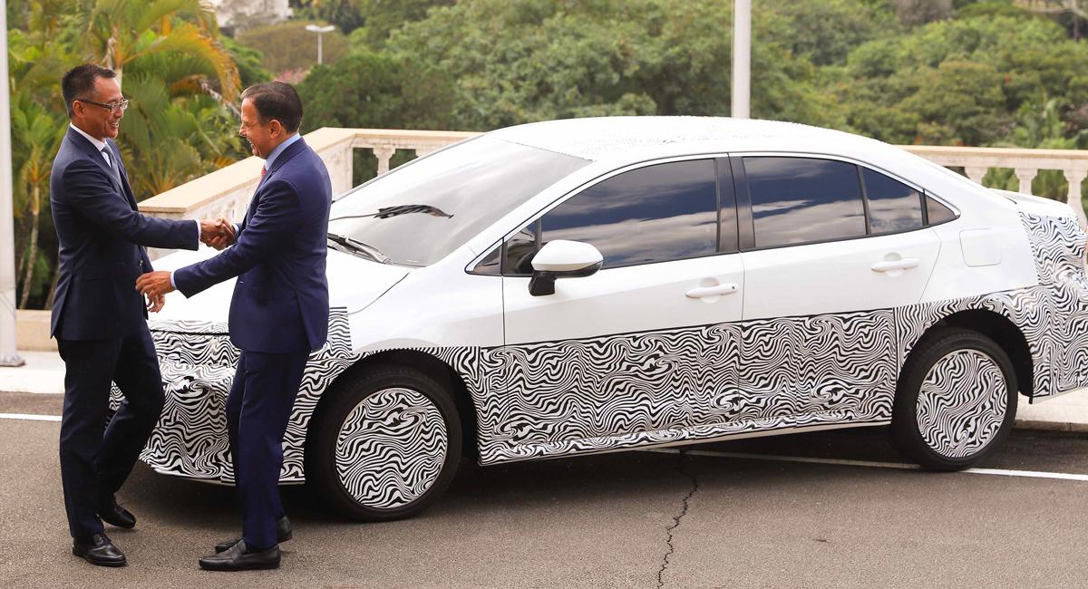 Бразильская Toyota Corolla станет «алкогольным» гибридом 2
