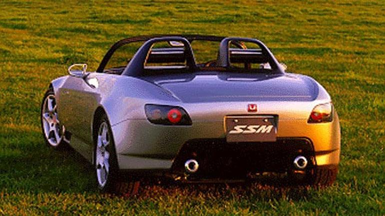 Опубликован концепт легендарного родстера Honda S2000 1