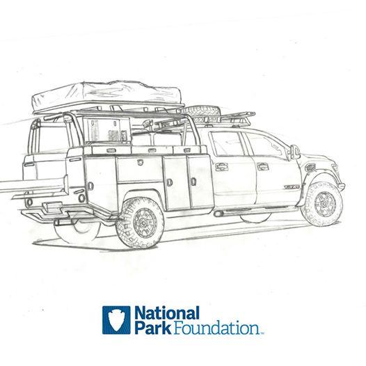 Nissan готовит концептуальный пикап Titan для национальных парков 1