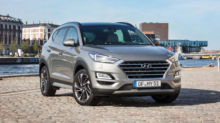 Hyundai обновит кроссовер Tucson 1