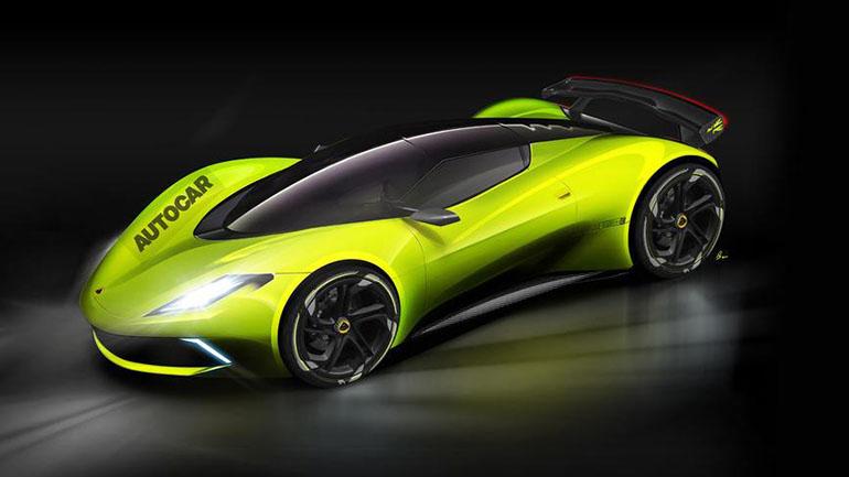 Lotus представит собственный электрокар в 2020 году 1