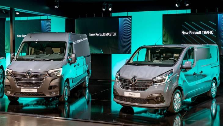 Renault обновила микроавтобусы Master и Trafic 1
