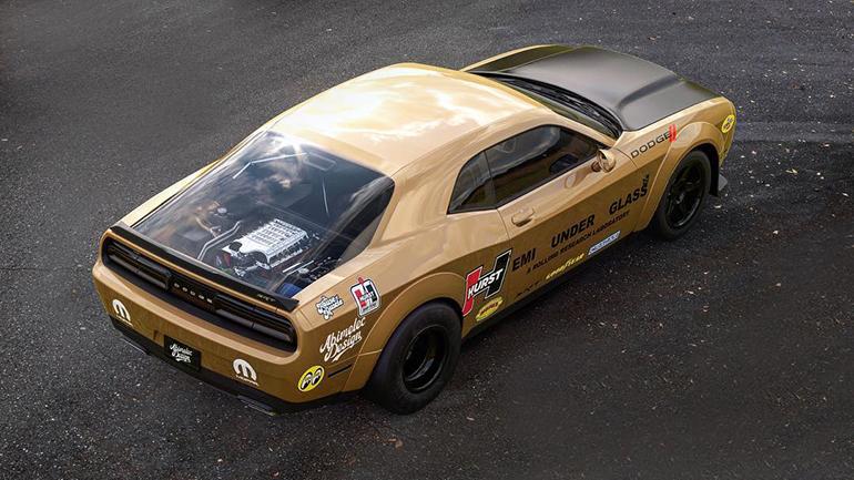 Представлен «стеклянный» рендер на Dodge Challenger Demon Hemi 2