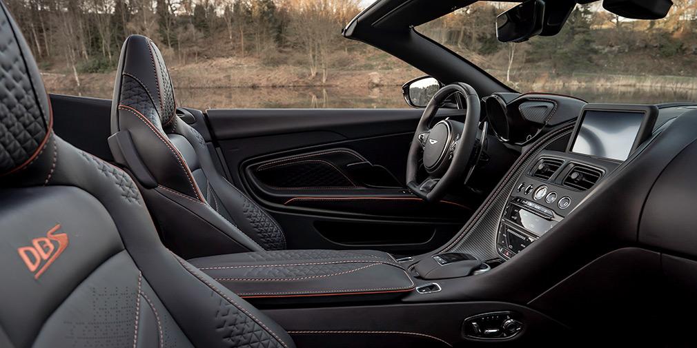 Aston Martin представил самый быстрый кабриолет 4