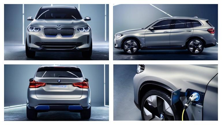 Электрический внедорожник BMW iX3 вывели на тесты 2
