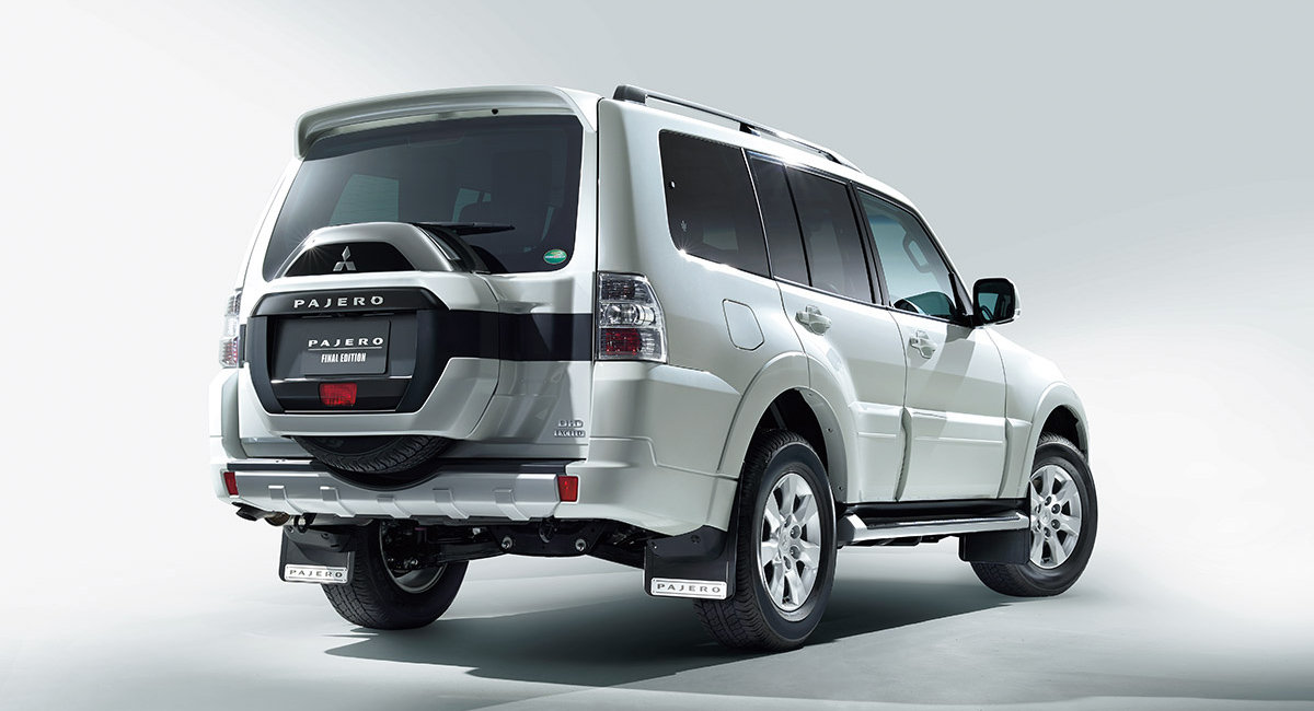 Mitsubishi Pajero: финальная версия для Японии 1