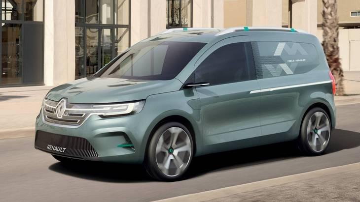 Renault сделает из Kangоo полностью электрическую версию 1