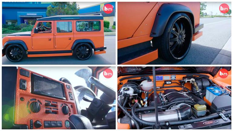 Land Rover Defender превратили в машинку Hot Wheels 1