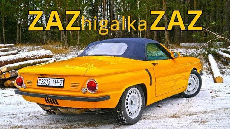 В Белоруссии собрали гибрид Porsche и «Запорожца» 2