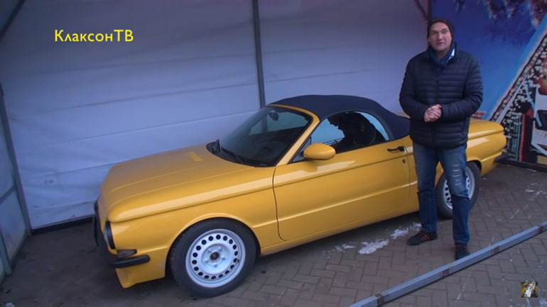 В Белоруссии собрали гибрид Porsche и «Запорожца» 1