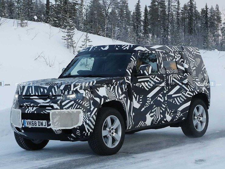 Названа дата премьеры нового Land Rover Defender 1