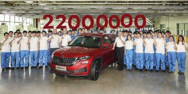 Юбилейный «Кодиак»: Skoda выпустила 22-миллионный автомобиль за 124-летнюю историю 1